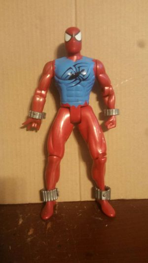 "Marvel Universe 10"" Deluxe Figure SpiderMan Scarlet Spider Toy Biz for Sale in New York, NY"