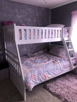 White Bunk Bed for Sale in Temecula, CA