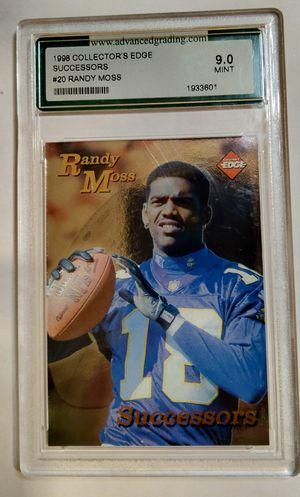 Randy Moss RC - '98 Collectors Edge Successors. 9.0 mint for Sale in Monroe, LA