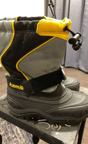 Toddler Size 10 Kamik Snow Boots kids for Sale in Carson, CA