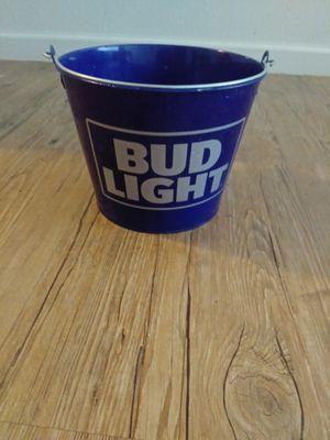 Metal Bud Light flower pot for Sale in Fresno, CA