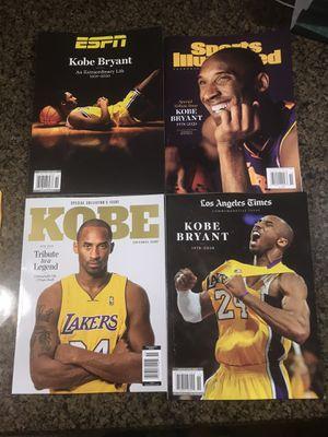 Kobe Tribute Magazines for Sale in Covina, CA