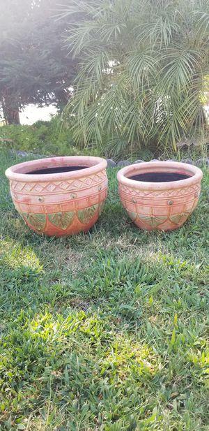 Brand new ceramic plants pots for Sale in Sanger, CA