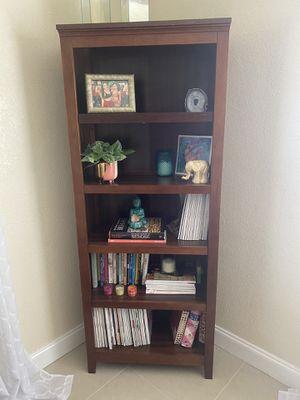Dark Wood Book Shelf for Sale in Fort Lauderdale, FL