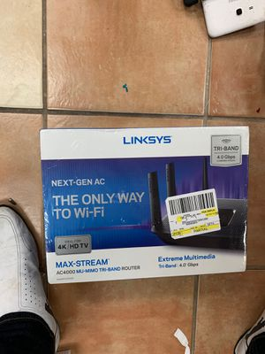 Linksys ea9300 for Sale in Houston, TX