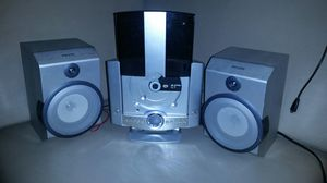Gpx CD Home Music System has speakers Sounds Great AM/FM CD Alarm CLOCK for Sale in Oklahoma City, OK