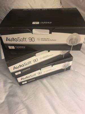 Auto soft 90 infusion sets from Tandem (3 boxes) for Sale in Sacramento, CA