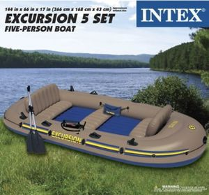 Inflatable boat excursion 5 for Sale in Orange, CA