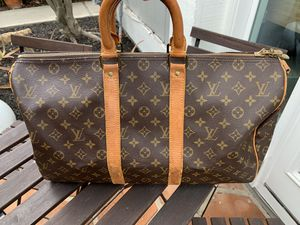 Authentic *LOUIS VUITTON *KEEPALL 45 BANDOULIERE* MINT! for Sale in Coronado, CA