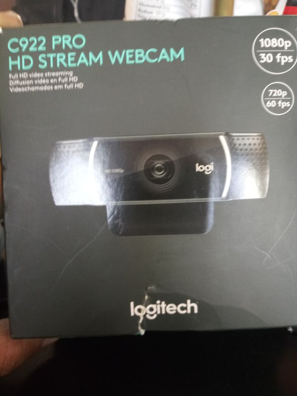 Logitech 1080p HD webcam