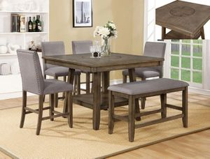 Manning Rustic Brown Counter Height Dining Set | 2731 for Sale in Houston, TX