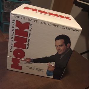 Monk: The Obsessive Compulsive Collection for Sale in Plainfield, IL