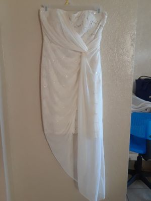 Night wedding WHITE DRESS for Sale in Kennedale, TX