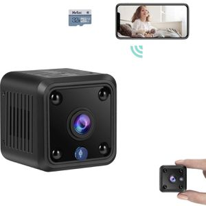 Brand New Wifi Pro Mini Spy Camera, WiFi Wireless Hidden Camera, 1080P HD Small Home Security Camera with 32G Storage Card, Night Vision, Motion Detec for Sale in Hayward, CA