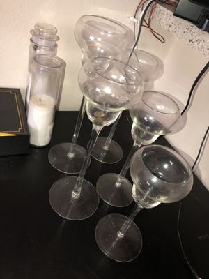 Free candle holders for Sale in Tampa, FL