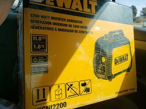 Dewalt portable generator/inverter for Sale in Gardendale, TX