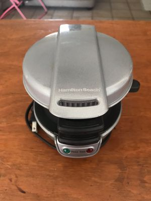 hamilton beach sandwich maker for Sale in Port St. Lucie, FL