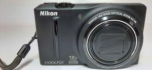 Nikon s9100 camera, still camera, full hd. for Sale in Colorado Springs, CO
