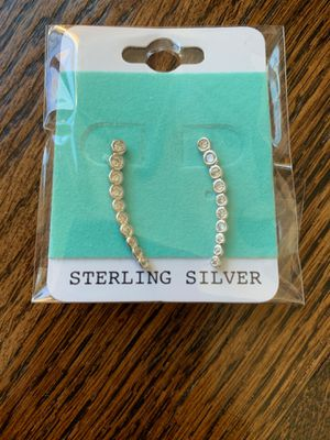 Sterling silver fashion earrings for Sale in Airmont, NY