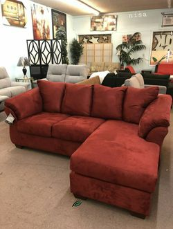 🏺$39 Down Payment . 🏺🏺SPECIAL] Darcy Salsa Sofa Chaise for Sale in Beltsville,  MD
