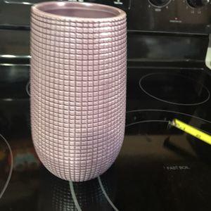Purple ceramic Vase for Sale in Middletown, CT