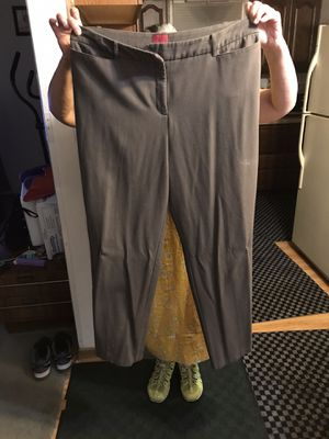 Size 16w brown dress pants for Sale in Milwaukee, WI