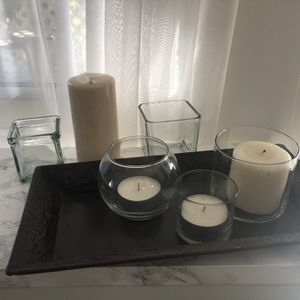 Beautiful Pier 1 Holiday Candle Set !! Perfect Elegance ! for Sale in Beverly Hills, CA