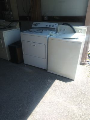 Amana washer kenmore dryer free DELIVERY for Sale in Lexington, SC