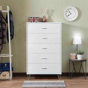 JUST $50 DOWN Deos white bedroom chest for Sale in Miami, FL