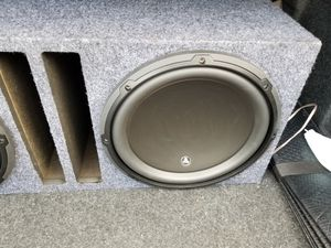 "2 12"" jl audio w3. for Sale in Denver, CO"