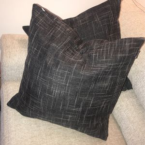 Black Textured Pillow Cases (Only Cases) for Sale in Hyattsville, MD