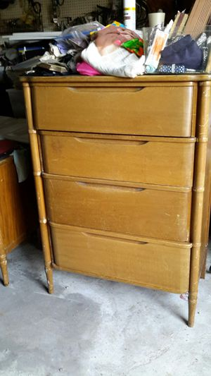 Mid century chest of drawers and vanity for Sale in Sanger, CA
