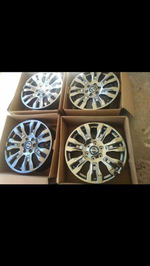"New set 20"" OEM black chrome Nissan rims for Sale in DeSoto, TX"