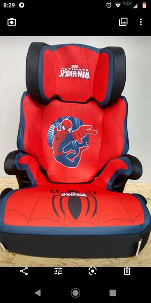 Kids embrace DC comics Spiderman booster seat for Sale in Murray, UT