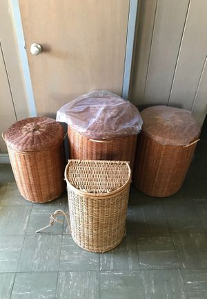 Wicker Basket for Sale! (Very Good-Good Condition) for Sale in Honolulu, HI