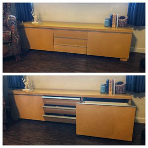 Yellow IKEA media cabinet for Sale in Arden-Arcade, CA