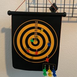 Hanging Magnetic Dart Board & Hanging Basketball Shoot for Sale in Manteca,  CA