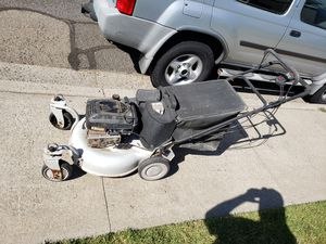 self propelled lawn mower. trade for chainsaw for Sale in Valley Home, CA