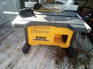 DeWalt table saw for Sale in Waxahachie, TX