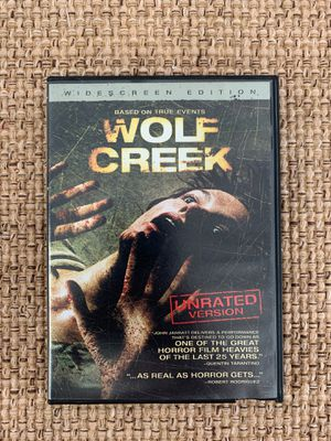 Wolf Creek Widescreen DVD Like New based on true events movie for Sale in Hazlet, NJ