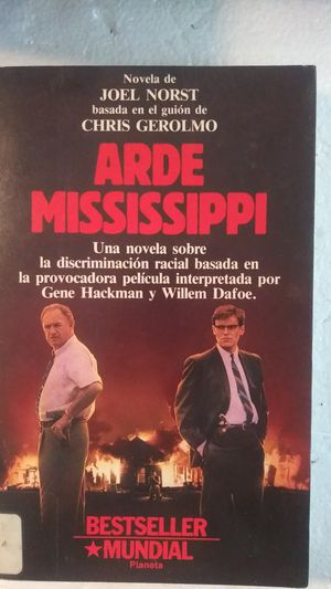 "Book Spanish ""Arde Mississippi"" por Joel Norst - Bestseller Mundial - Acerca de la discriminacion racial for Sale in Miami Lakes, FL"