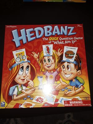 Hedbanz board game for kids never played has all pieces for Sale in Hazelwood, MO