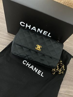 Chanel Vintage Quilted Satin Flap bag for Sale in Issaquah, WA