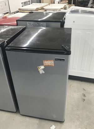 Magic Chef 4.4 cu. ft. Mini Fridge in Stainless Look Home and Garden TX for Sale in Houston, TX