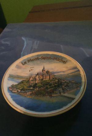 Le Mont-Saint-Michel Ceramic Plate for Sale in Sanger, CA