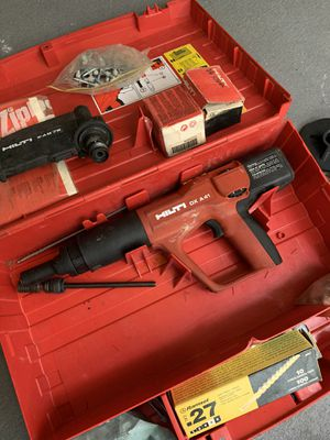 HILTI DX A41 Actuated-Actuated Tool for Sale in Orlando, FL