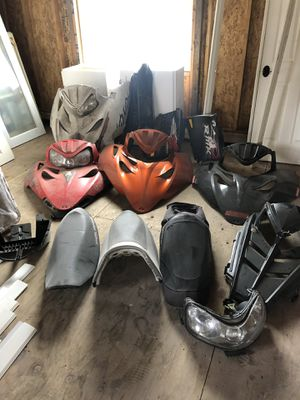 Snowmobile skidoo Polaris Arctic cat snowmobile parts for Sale in Gig Harbor, WA