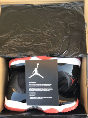 "(sz10.5) 2019 Jordan 11 ""Bred"" for Sale in Norco, CA"