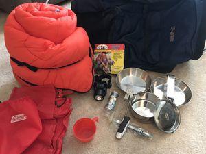 Complete hiking backpack set! for Sale in Boca Raton, FL