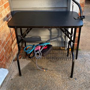 Pet Grooming Table 32 Inches & Andis Groomer for Sale in Virginia Beach, VA